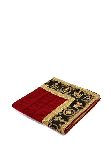 Versace Battaniye Kırmızı